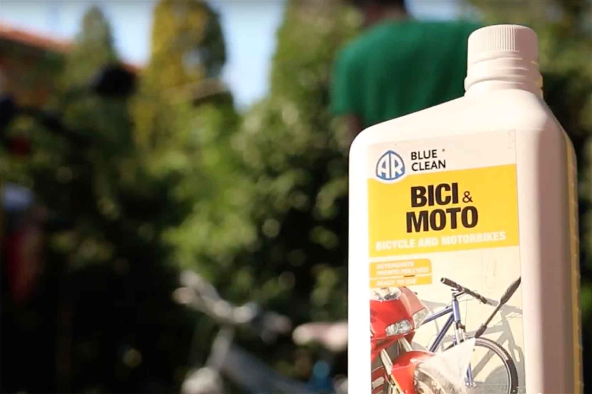 detergente pulizia bici