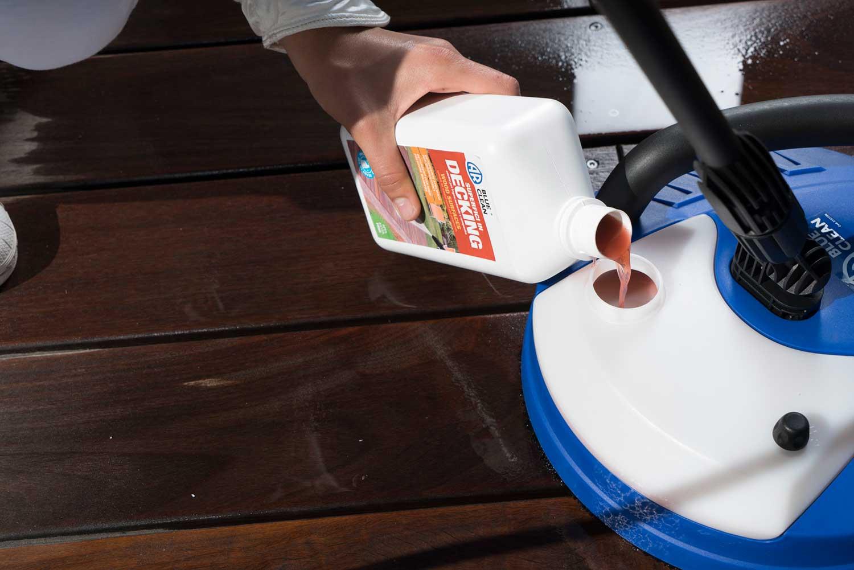 detergente per decking idropulitrice