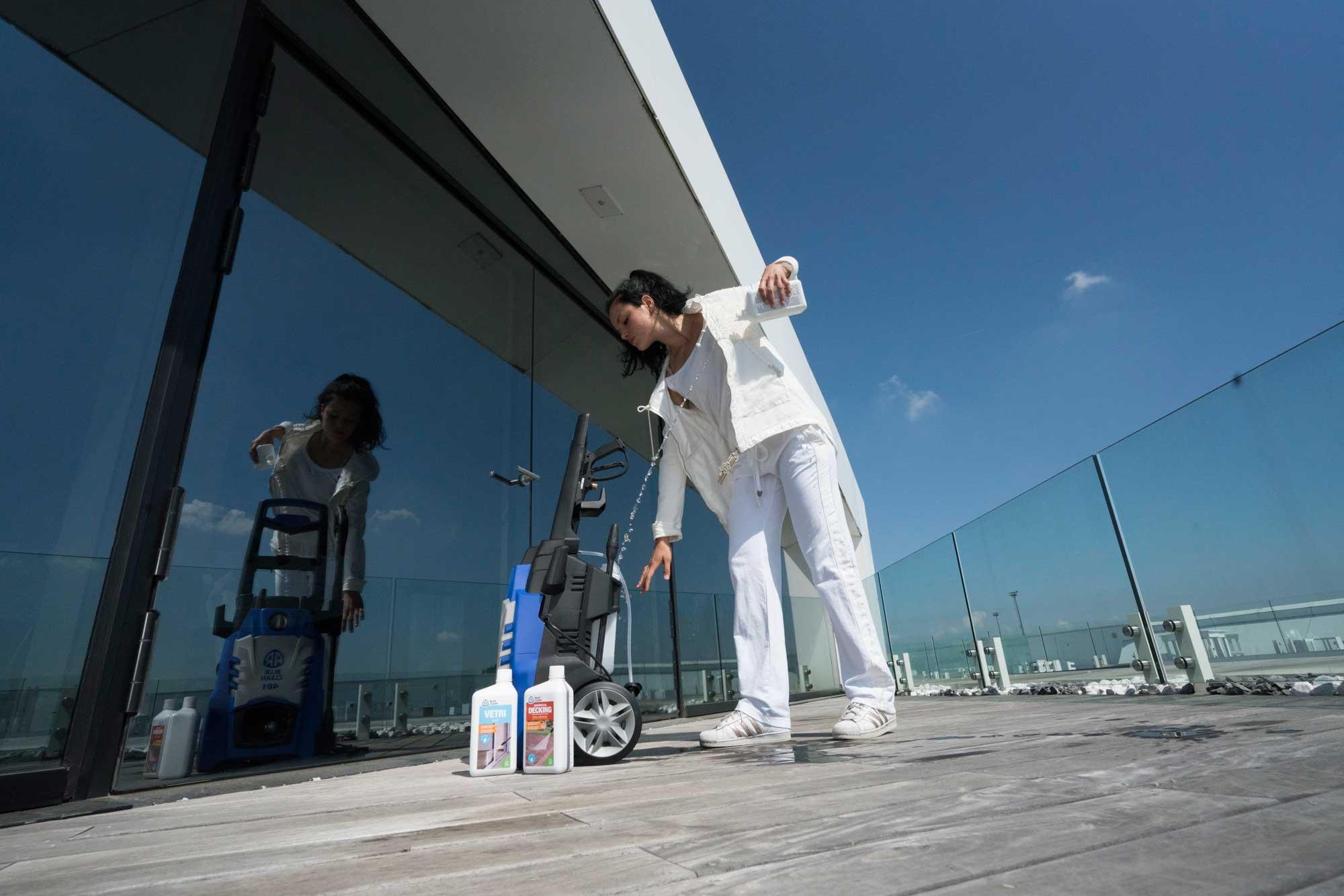 detergente per vetri idropulitrice