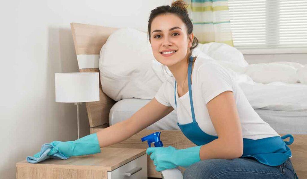 come pulire la camera da letto