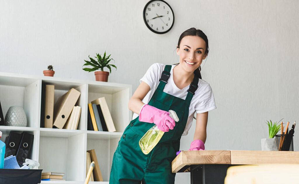 come pulire un ufficio
