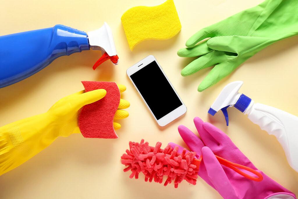 pulizie domestiche influencer