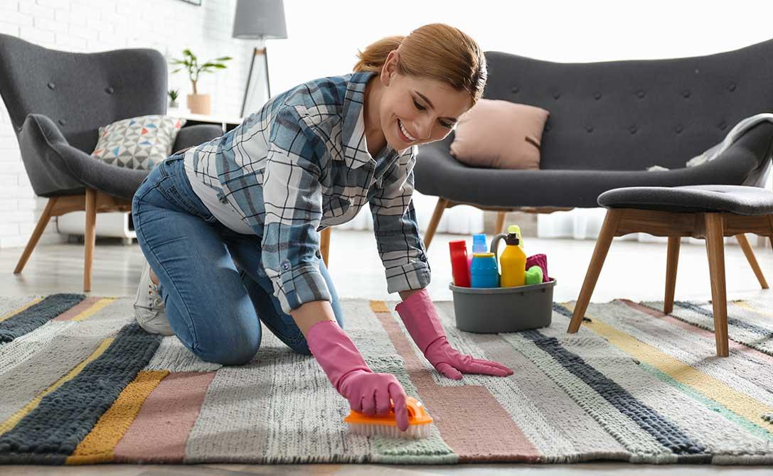 come pulire un tappeto