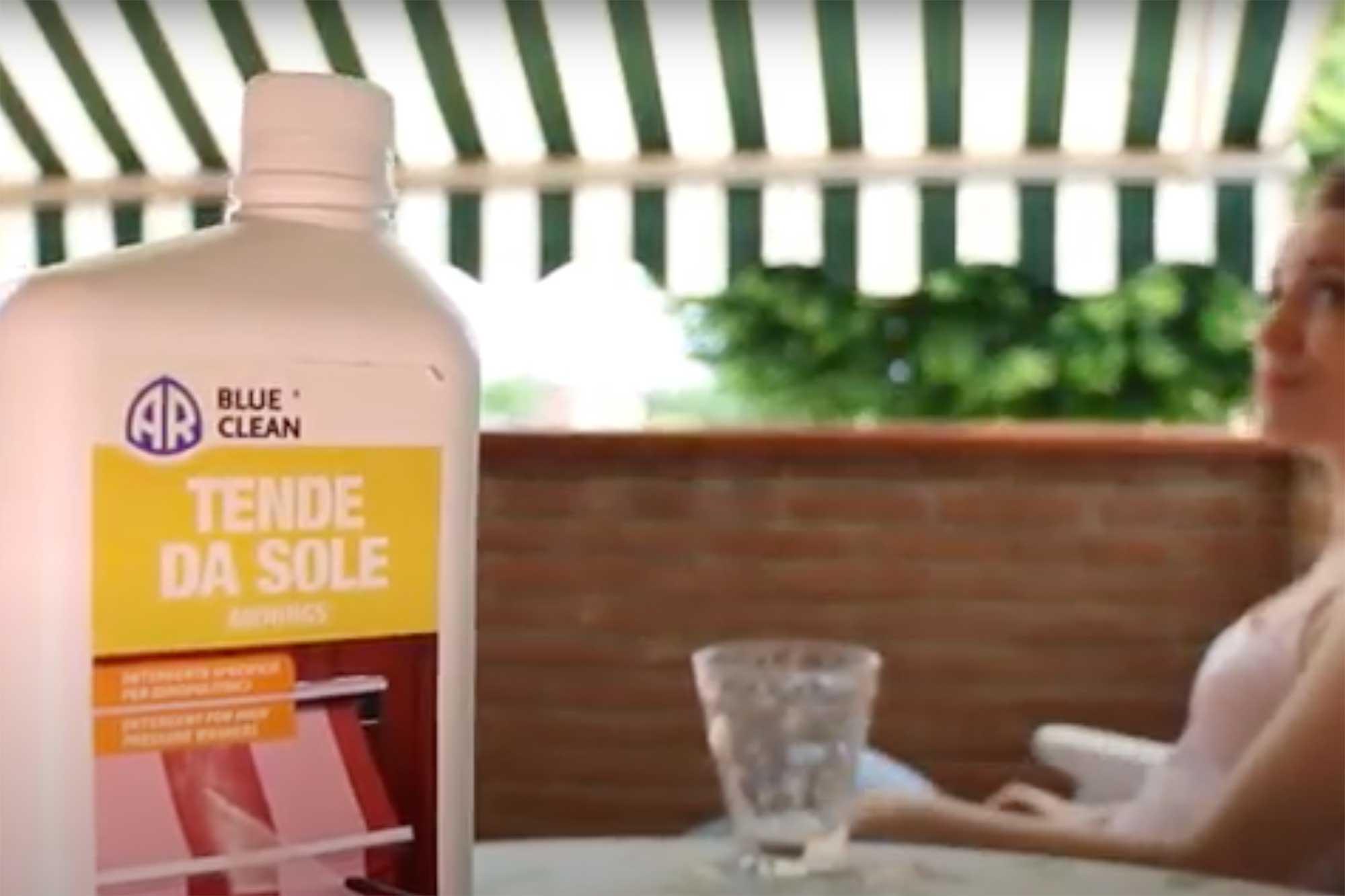 detergente per tende da sole