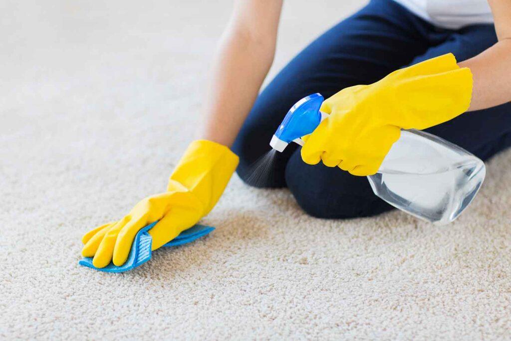 lavare tappeto