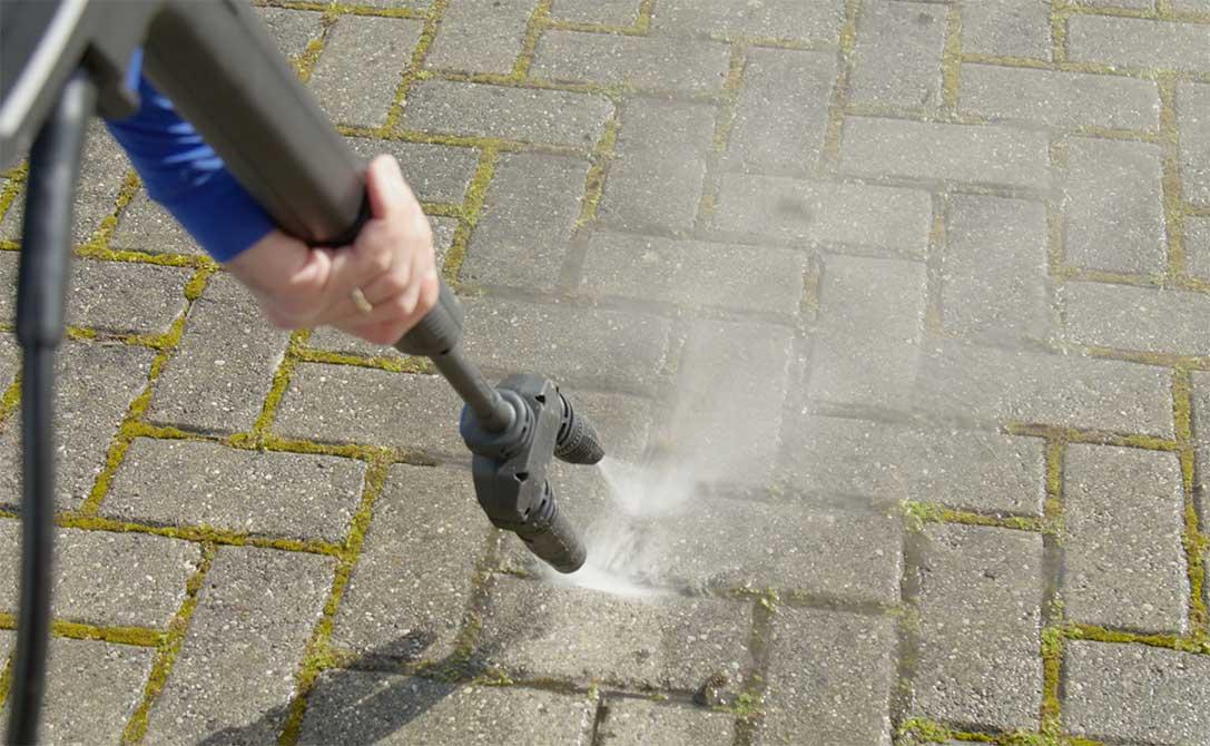 Come Pulire I Pavimenti Esterni Ruvidi Ar Blue Clean