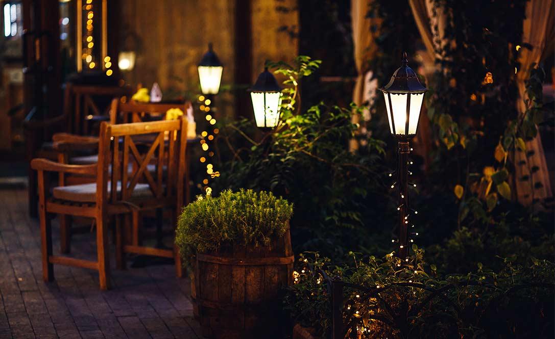 come-pulire-i-lampioni-da-giardino